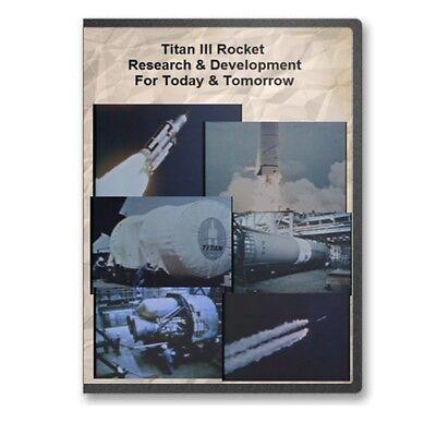 Titan Rocket - Titan III Rocket Research & Development Cape Kennedy KSC Documentary DVD C817