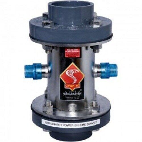 """Aqua Ultraviolet Viper UV 400 Watt Stainless Steel w/ 2"""" Ports, AS90414"""