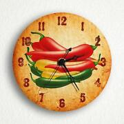 Chili Pepper Clock