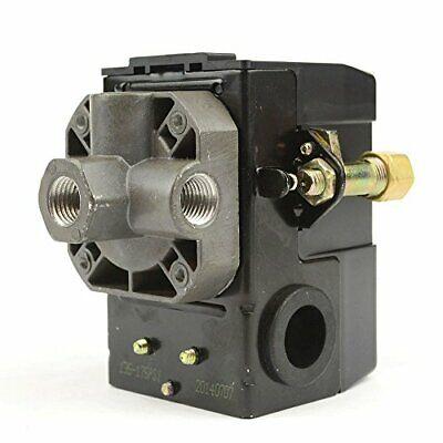 Lefoo Quality Air Compressor Pressure Switch Control 95-125 Psi 4 Port Wunlo...