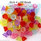 Mixed Color Acrylic Beads