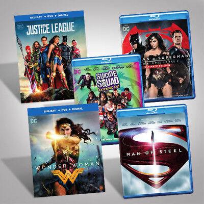 DC Films Blu-ray Bundle [New Blu-ray]
