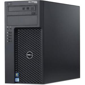 Dell Precision T1700 Mini Tower Workstation i7-4790 @ 3.60GHz, 16 GB RAM, 2 TB HDD, 1 GB Sapphire ATI Radeon HD 5770