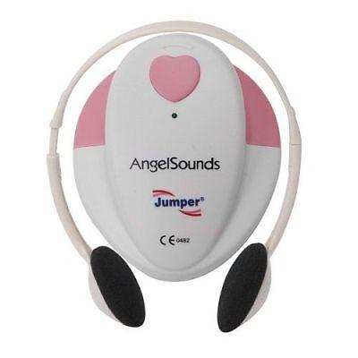 FETAL DOPPLER HEART BEAT MONITOR ANGEL SOUND ANGELSOUNDS JUMPER GEL CD JPD-100S