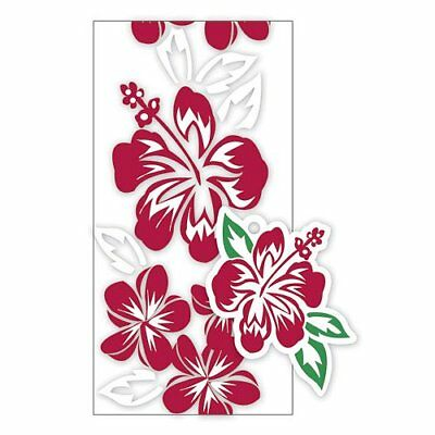 Hawaiian Lei Making Kit for 5 Candy Lei - Hibiscus RED
