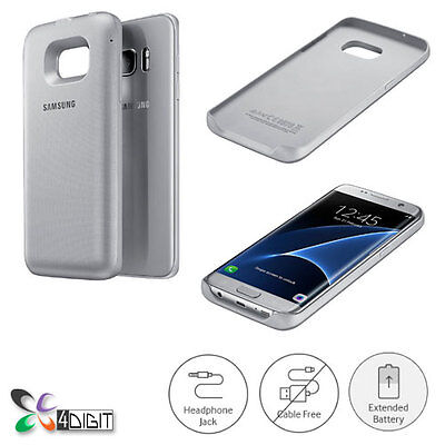 Genuine Samsung SM-G935A Galaxy S7 Edge USA Wireless Charging Battery Pack Cover