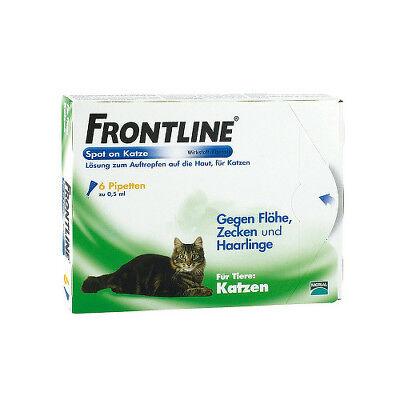 FRONTLINE Spot on K Lösung f.Katzen 6St PZN 02246426