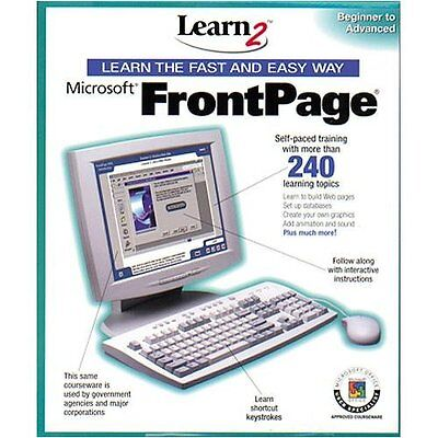 Learn Microsoft Frontpage By Learn2 Com  Beginner To Advanced     Nib