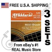 Acoustic Guitar Strings 10