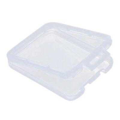 10pcs TF Micro SD SDHC MMC CF Memory Card Plastic Clear Holder Box Storage Case