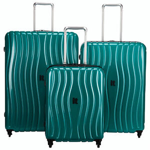 "it luggage ""Doppler""3-Pc 4-Wheel Luggage Set-Green or Copper-NEW"