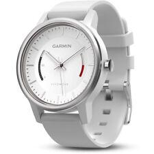 New Garmin Vivomove Sport Activity Tracking Smart Watch (White) - 010-01597-03