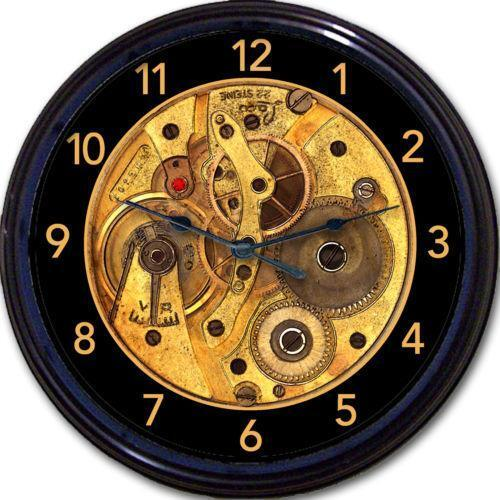 Steampunk Wall Clock Ebay