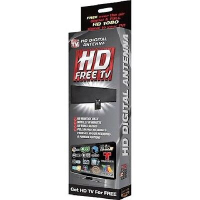Full HD 1080p Free Television Digital Indoor Antenna As Seen On TV SHIPS FREE
