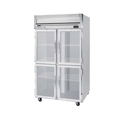 Beverage Air Hf2hc-1hg Half Glass Door Two-section Reach-in Freezer