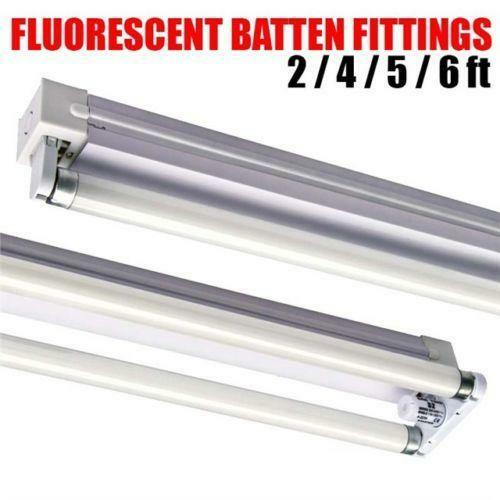 Fluorescent Light Batten Fittings: 4ft Fluorescent Fitting
