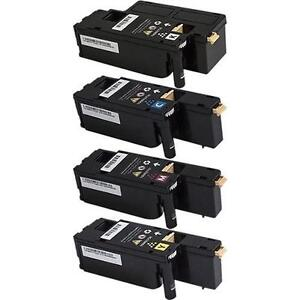 XEROX Phaser 6022, Workcentre 6027 Compatible Toner Cartridges (1 set of 4) - Free Shipping
