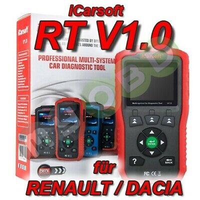 OBD II Diagnose Tool T59 Fehler lesen und löschen passt bei Renault