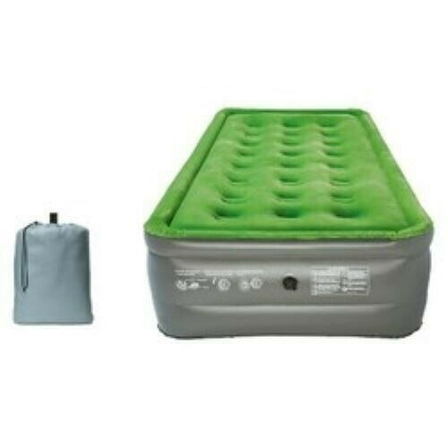 Embark Double High Twin Air Mattress With Built-in Pump