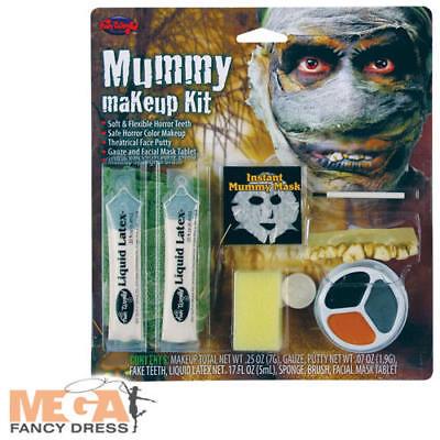 Mummy Makeup Kit Halloween Fancy Dress Adult Horror Costume Make Up Accessory (Halloween Mummy Makeup)
