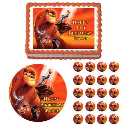 Decorating Ideas > Lion King Cake Decorations  EBay ~ 134721_Lion King Cake Decoration Ideas