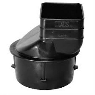 Advanced Drainage Systems 0364Aa 3 Inch Downspout 2 X 3 X 3 Inch Adapter Drainag