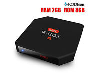 **New RK3229 2G 8G WIFI 2.4Ghz Quad Core TV Box custom build Plug and Play**