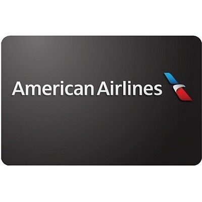 American Airlines $100 Gift Card Only $97! Free Shipping, Pre-Owned Paper Card