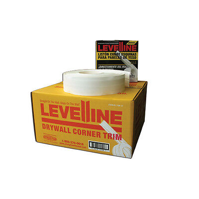 Levelline Drywall Flexible Corner Trim Tape For Off Angles - 100 Roll Dispenser