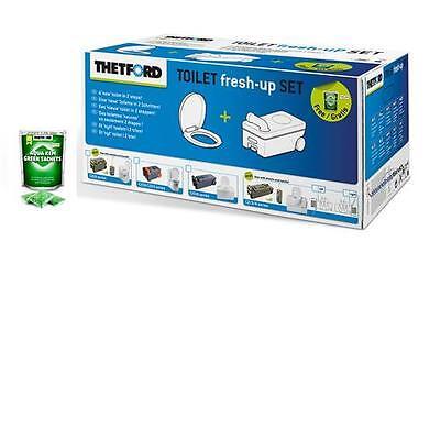 Thetford Fresh-Up Set für C250/C260, neues Modell, Toilette, Fäkalientank, NEU