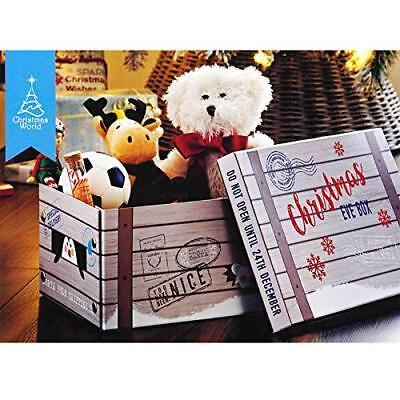 n Kiste Raum Sparend Aufbewahrung Klappbar - Pinguin (Weihnachten Behandeln)