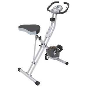 Exerpeutic 1200 Folding Magnetic Upright Bike with Pulse Monitor