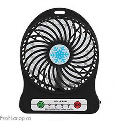 Ricaricabile Usb Da Tavolo Portatile Manuale Silenzioso Mini Ventilatore