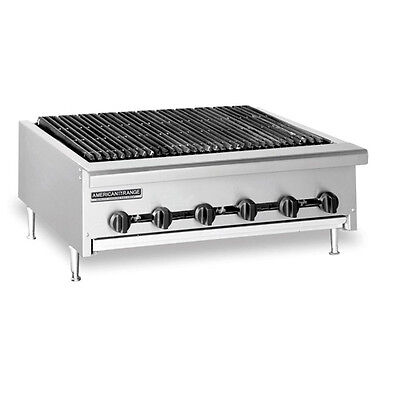 American Range AERB-48, Radiant Type 48 inch Gas Charbroiler, Full Width -