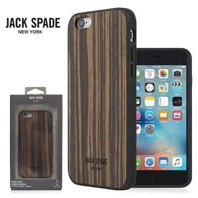 Jack Spade New York Wood Case Cover for iPhone 6s & 6 - Brown