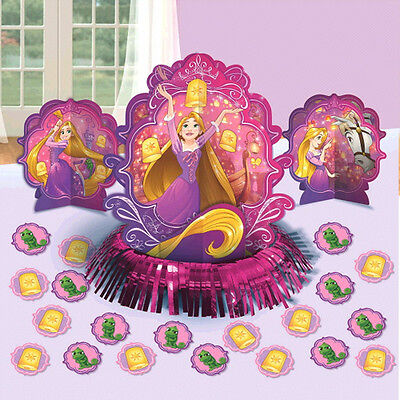 TANGLED Dream Big TABLE DECORATING KIT (23pc) ~ Birthday Party Supplies Confetti