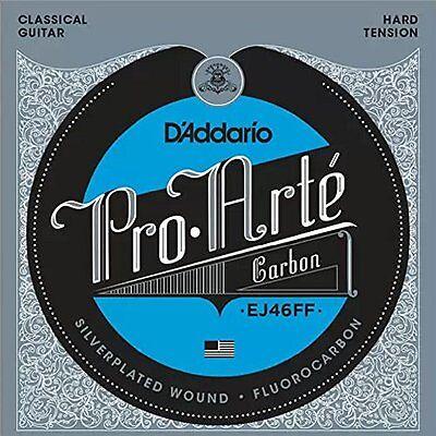 D'Addario ProArte Carbon Classical Guitar Strings, Dynacore Basses, Hard Tension Bass Classical String Basses