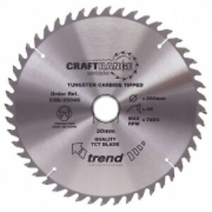 Trend Wood Plunge Saw Blade 165 mm x 48 Teeth x 20 mm CSB/16548 Makita SP6000K