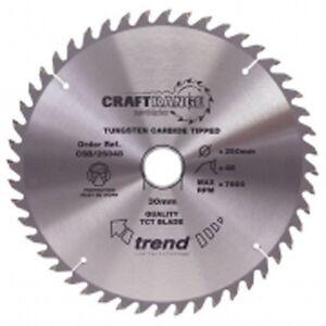 Trend Wood Plunge Saw Blade 165 mm x 48 Teeth x 20 mm CSB/16548 Makita SP6000K