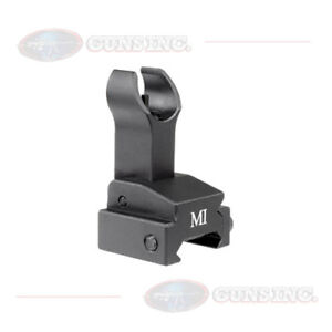 Midwest Industries Sight Gas Block Black Front Gas Block Flip Up MCTAR-FFG