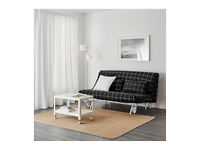IKEA PS LOVAS rute black sofa bed, king size bed, FREE DELIVERY