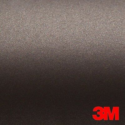 5ft x 75ft - 3M MATTE BROWN METALLIC Scotchprint Car Wrap Vinyl Film 1080 Series