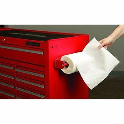 Steel Magnetic Roll Paper Towel Dispenser Holder Rack