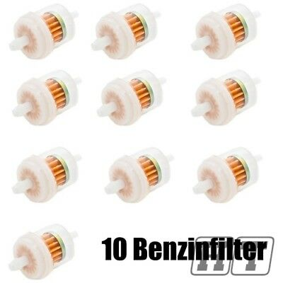 10X FUEL FILTER FUEL FILTER 6 MM FUEL FILTER FOR SCOOTER MOTORCYCLE