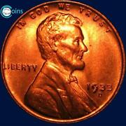 BU Lincoln Wheat Cents