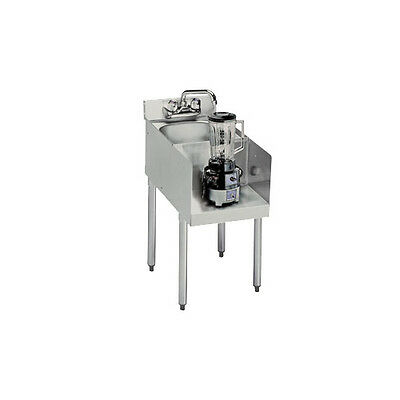 Krowne Metal Standard 1800 Series 12w Underbar Blenderdump Sink Station