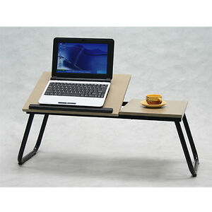 Portable folding laptop table stand desk bed sofa tray new modern