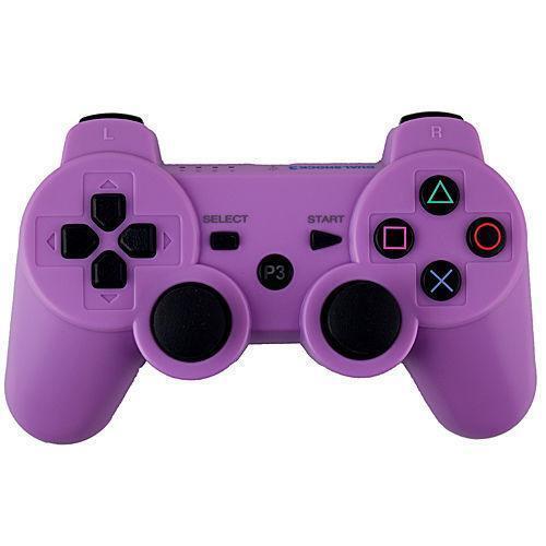 purple ps3 controller ebay. Black Bedroom Furniture Sets. Home Design Ideas