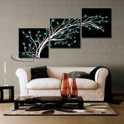 Framed Modern Abstract Canvas Art Oil Painting