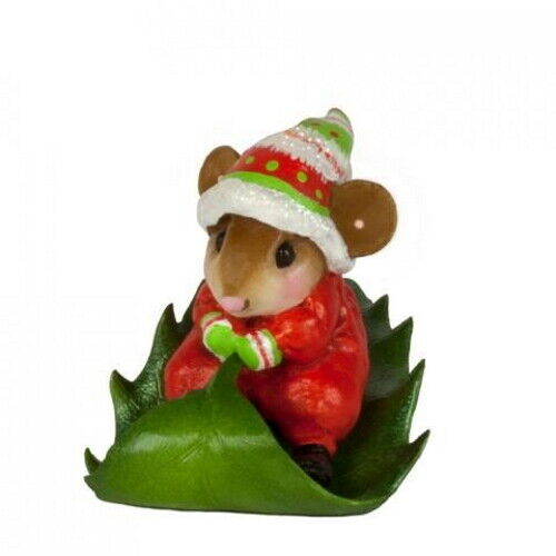 Wee Forest Folk M-629 Holly Express, Red